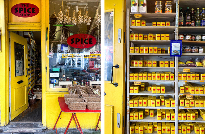 The Spice Shop, best Notting Hill shops