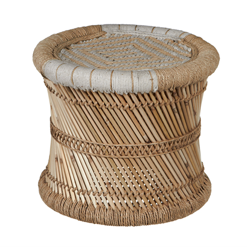 Touch Goods, Southold Cotton and bamboo stool