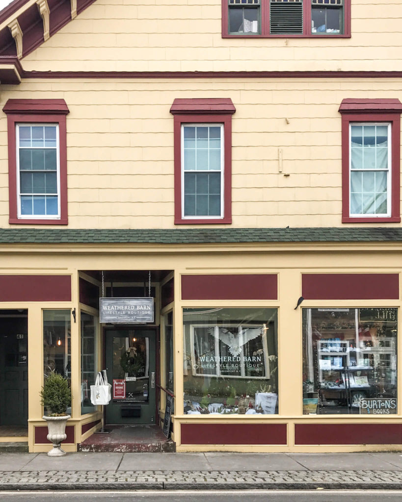 the weathered barn,  best north fork shops