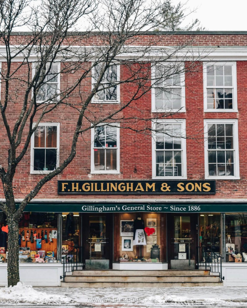best shops vermont F H Gillingham and sons