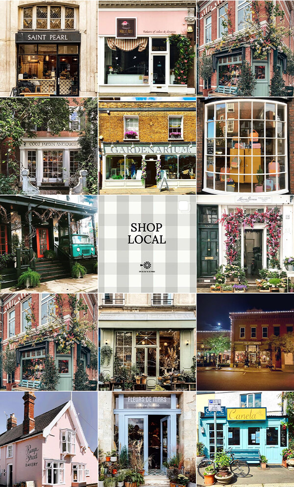 august notebook local shopfronts