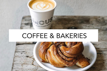 favorite coffee shops and bakeries