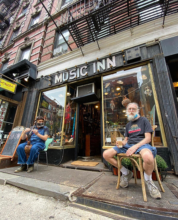 music inn shop local with new york nico