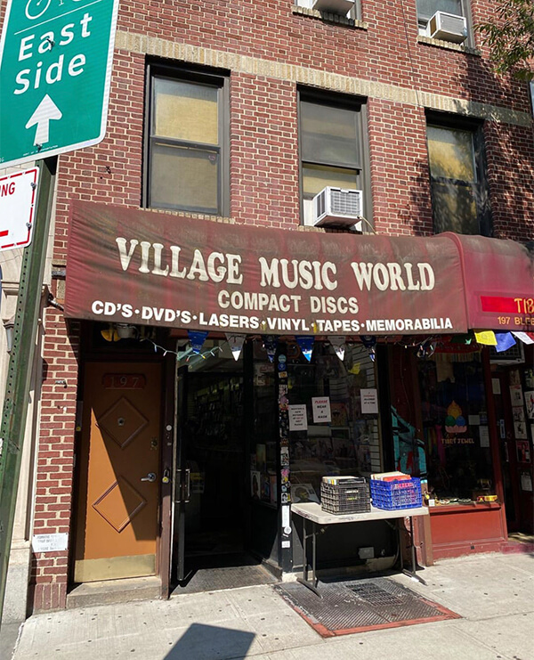 village music world west village