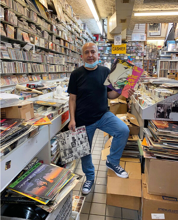 village revival records shop local with new york nico