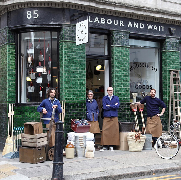 labour and wait london shopkeepers