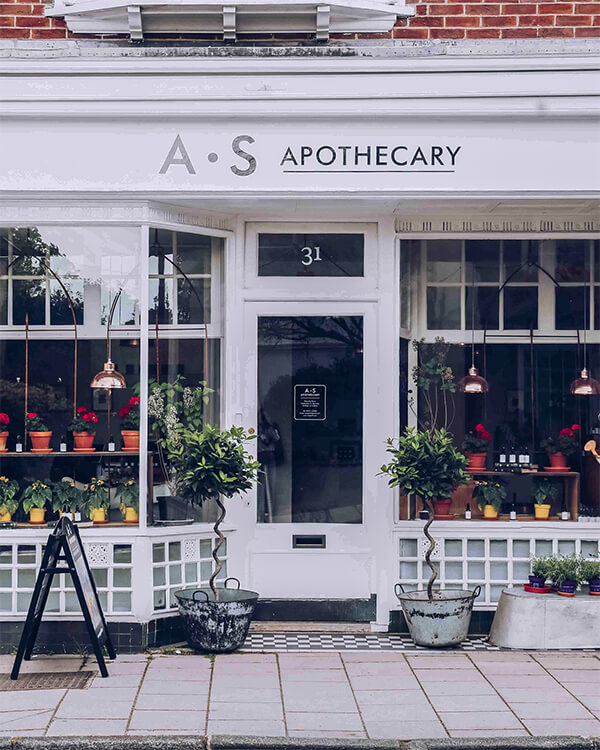 a.s apothecary  2020 best beauty and apothecary shops