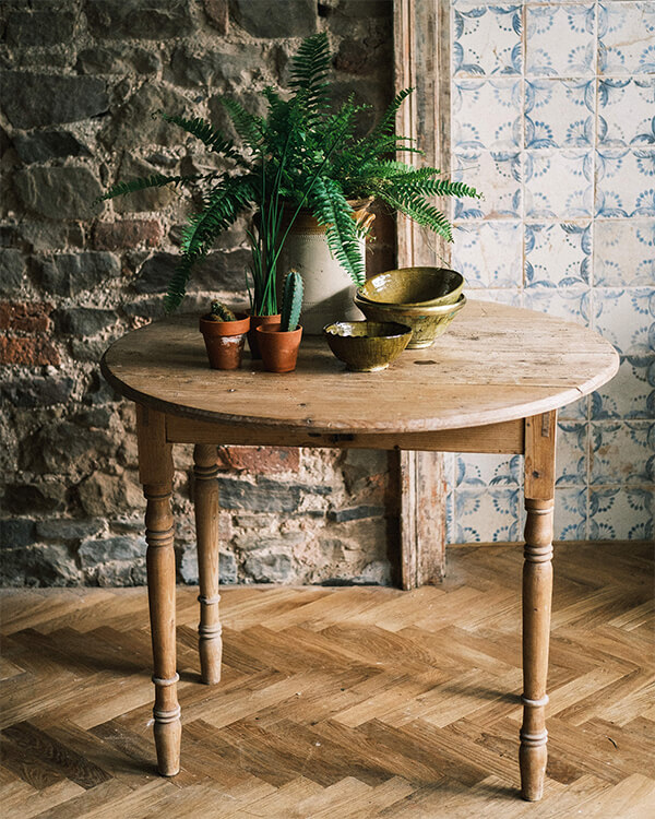 vintage table Joy Thorpe decorative antiques and interiors castlecomer
