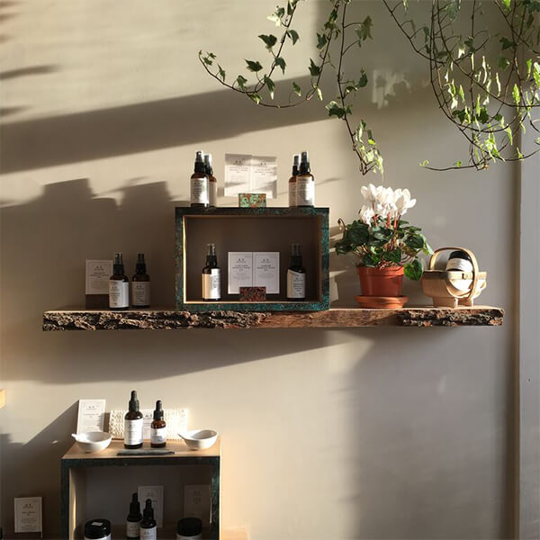 a s apothecary display