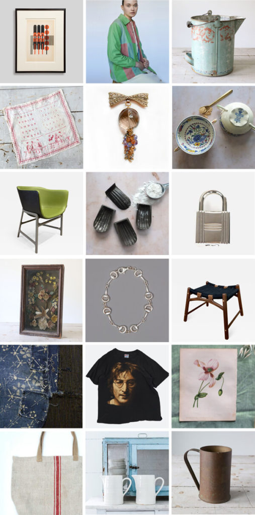 vintage & antique shopping guide