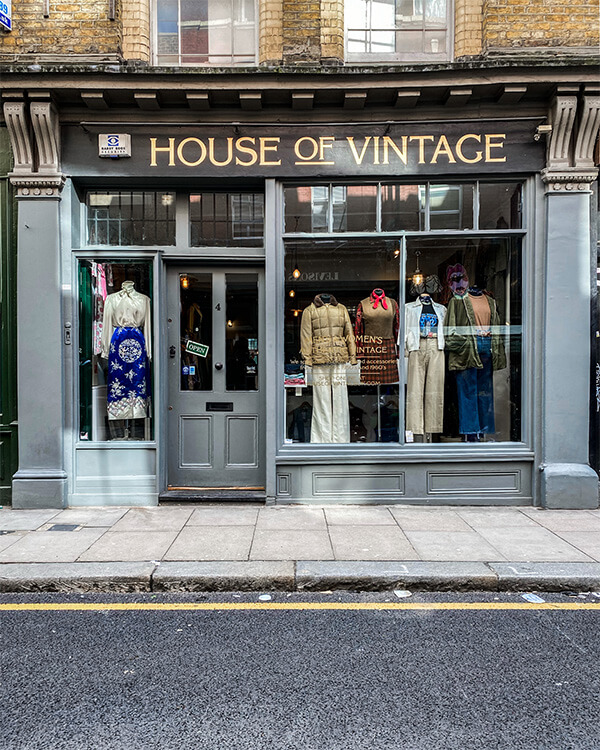 House of Vintage  Cheshire Street