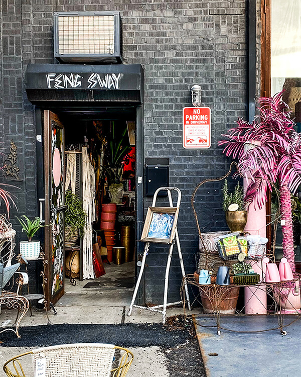 Feng Sway favorite Greenpoint shops